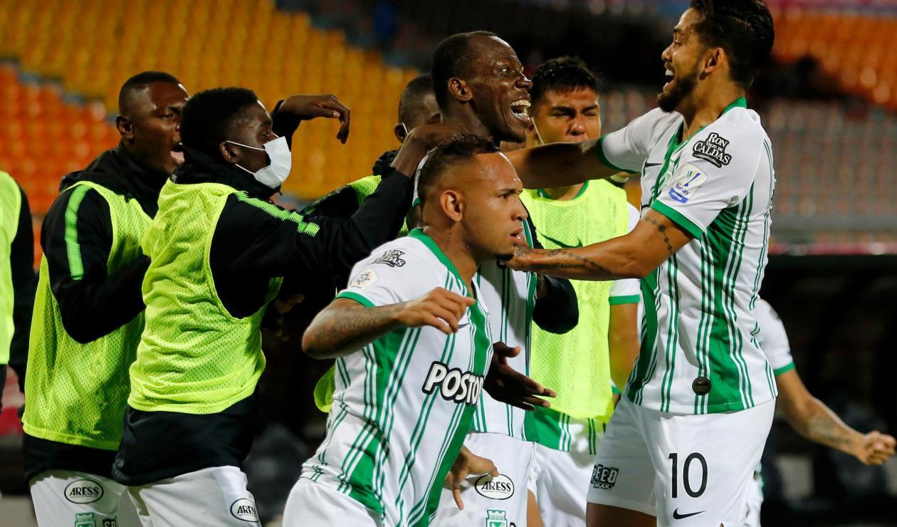 Atlético Nacional vs Águilas Doradas