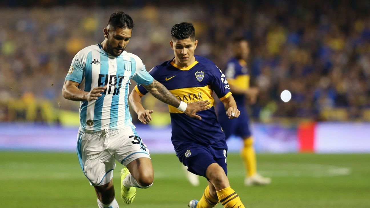 Boca Juniors vs Racing Club