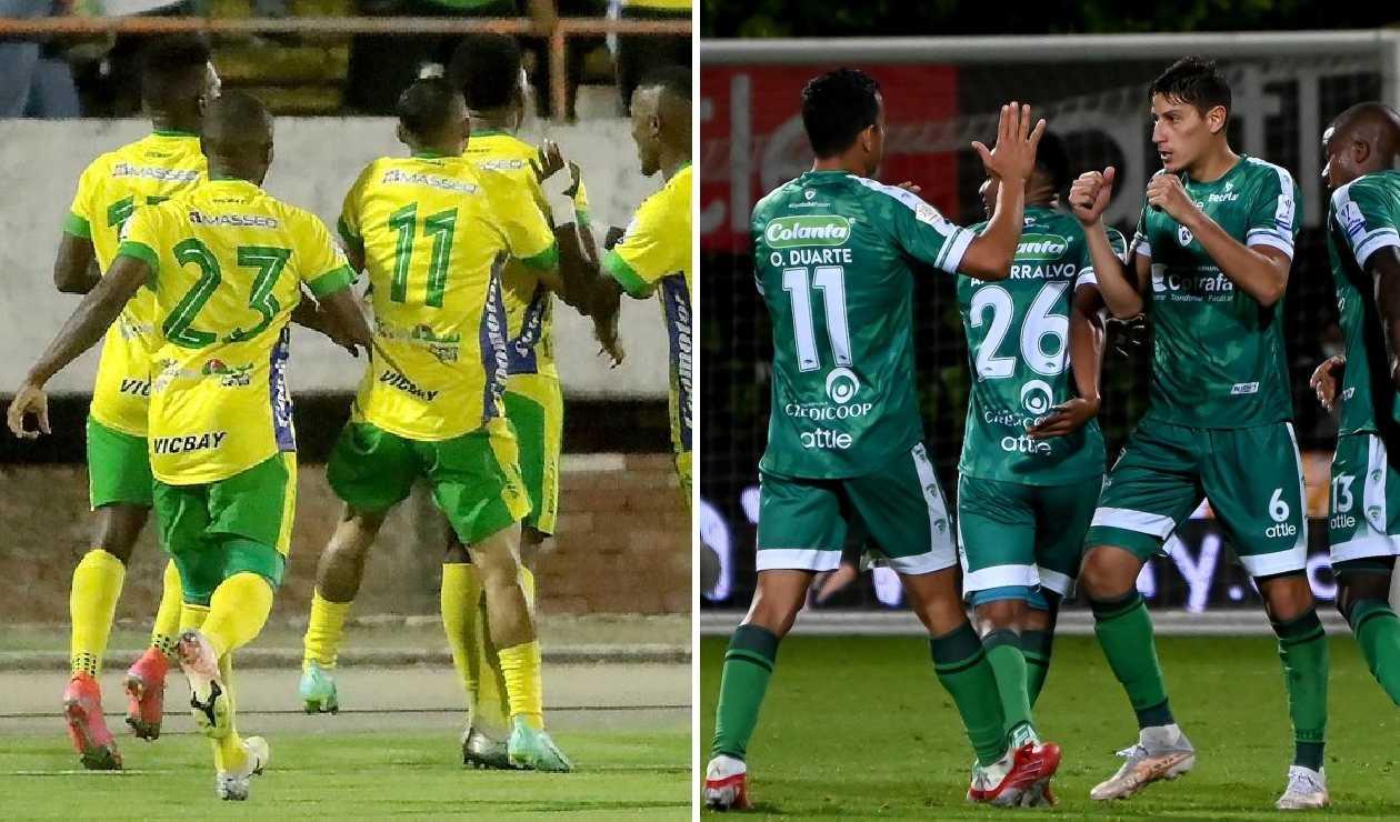 Atlético Huila vs La Equidad