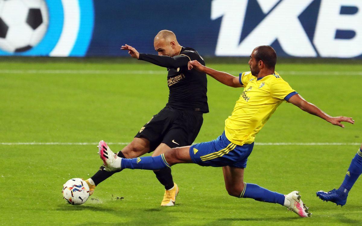 Cádiz CF vs FC Barcelona