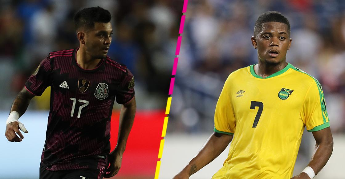 México vs Jamaica Rica